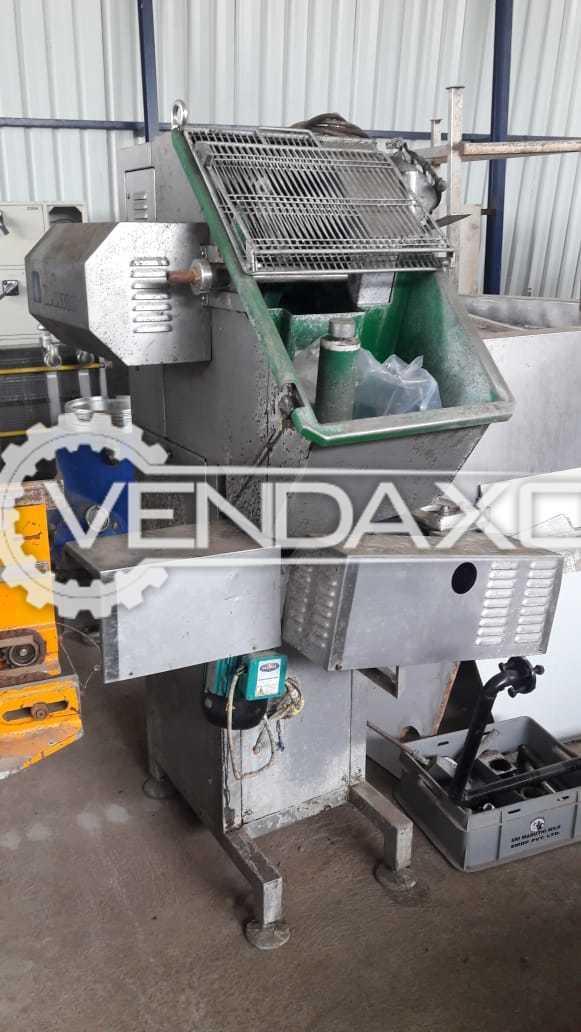 Dima Cooker Stretcher Machine - 100 kg/hr, 2011 Model