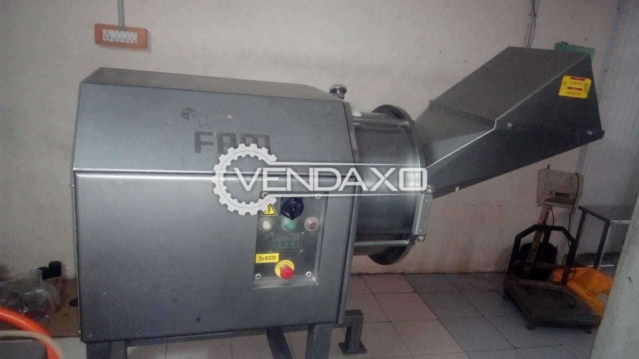 FAM Flexifam Dicer With Cutting Tool Machine - 5.5 Kw, 2011 Model