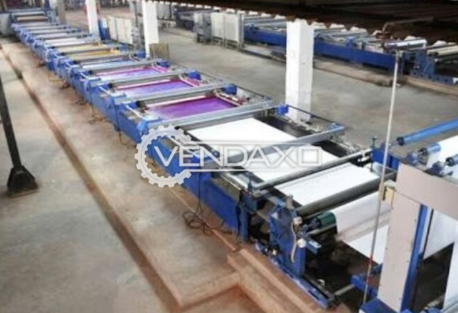 Textile Printing Machine - 5000 mtrs