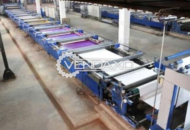 Textile Printing Machine - 5000 mtrs