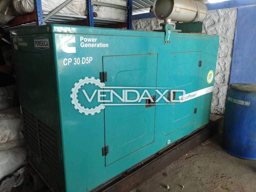 Powerica CP 30 D5P Diesel Generator - 30 kVA, 2016 Model