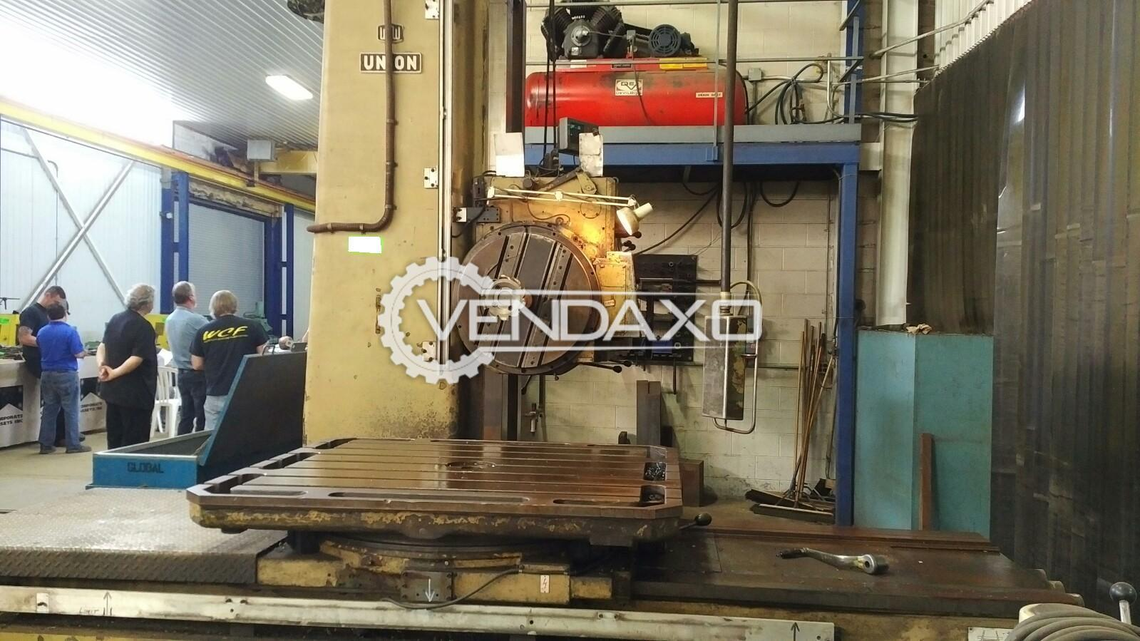 Wmw bft 100iv horizontal boring machine 2