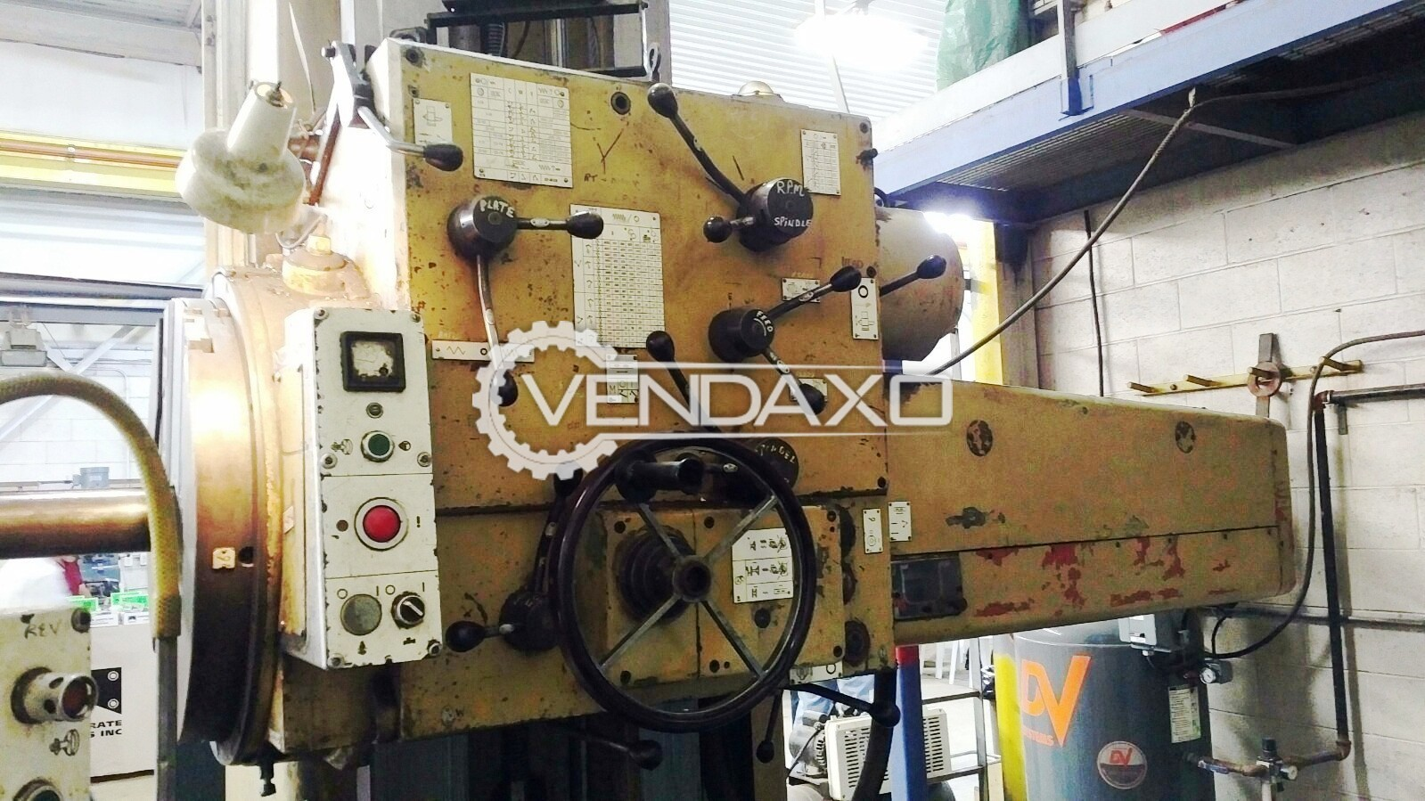 Wmw bft 100iv horizontal boring machine 3