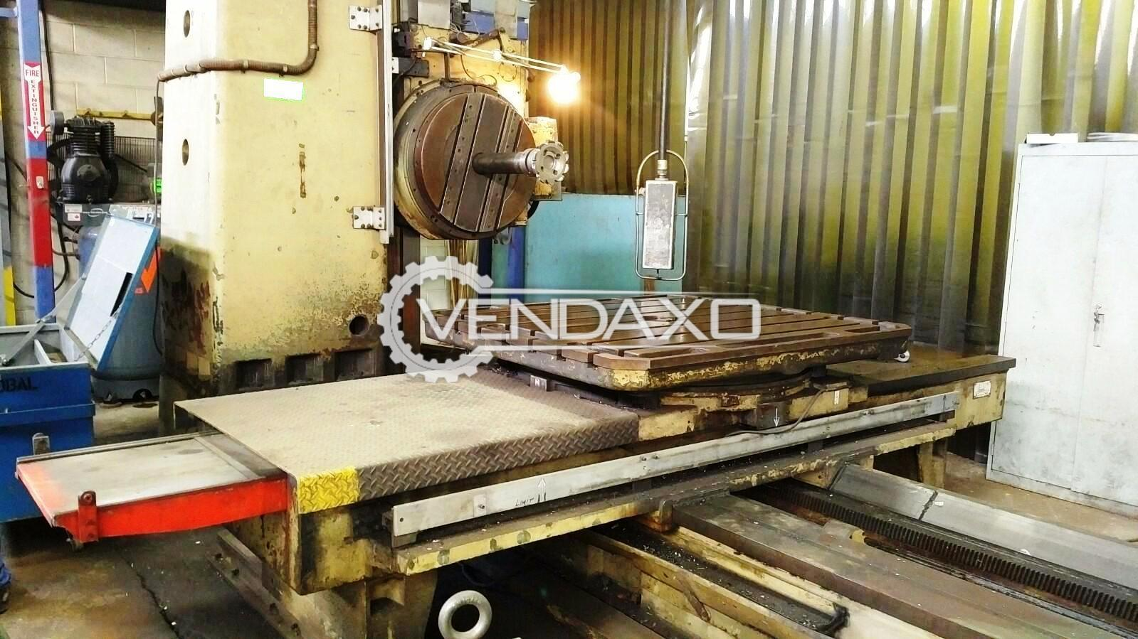 Wmw bft 100iv horizontal boring machine 5