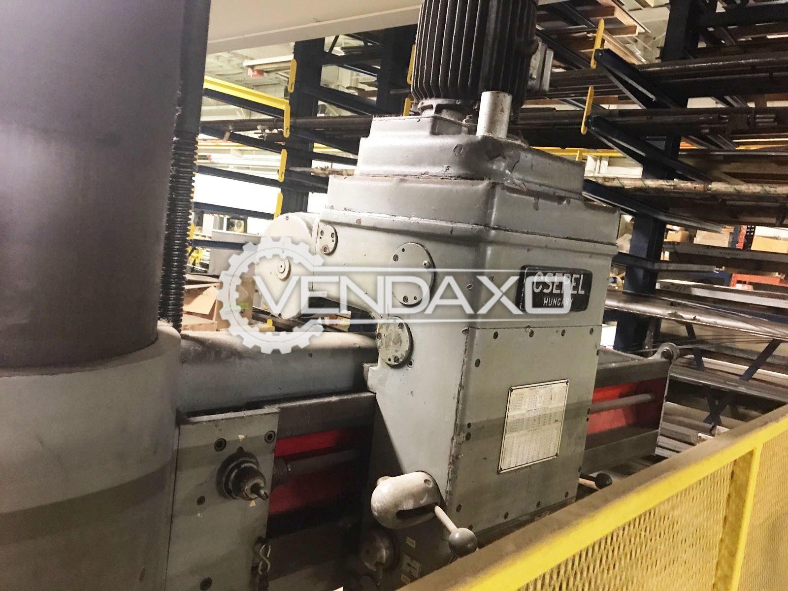 Csepel rf 22a radial drill machine   50 mm 3