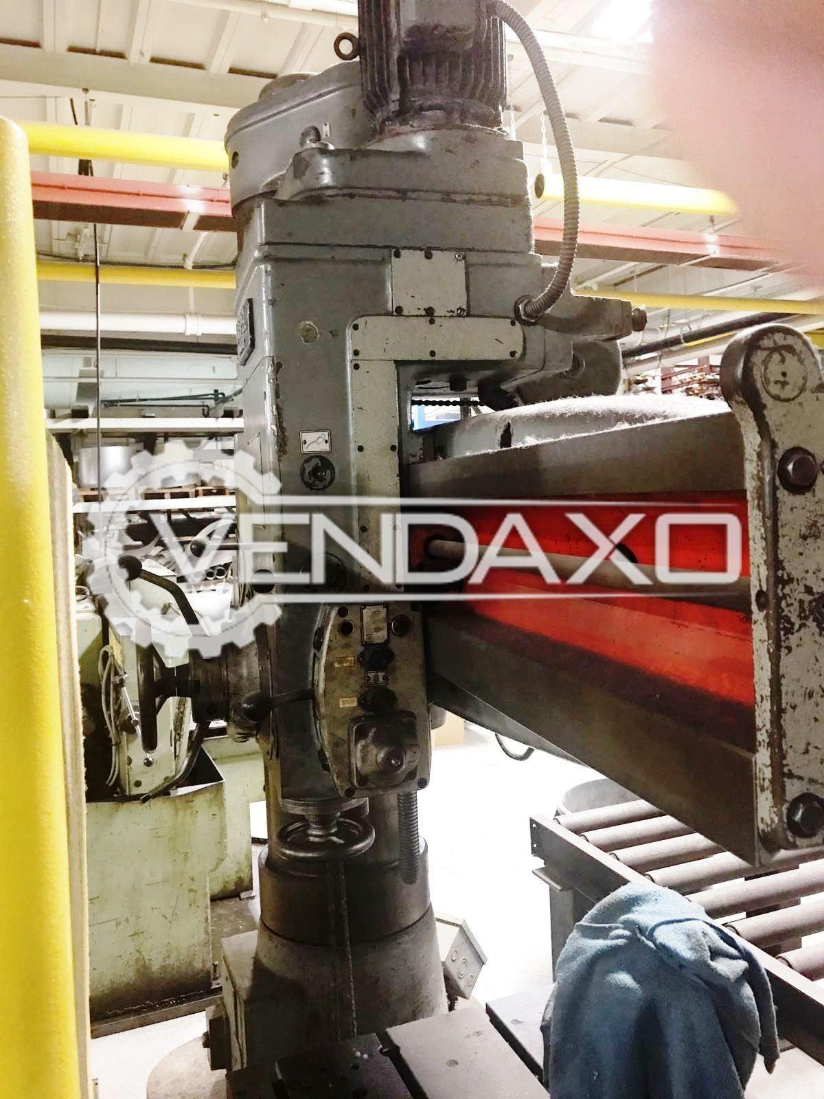 Csepel rf 22a radial drill machine   50 mm 4