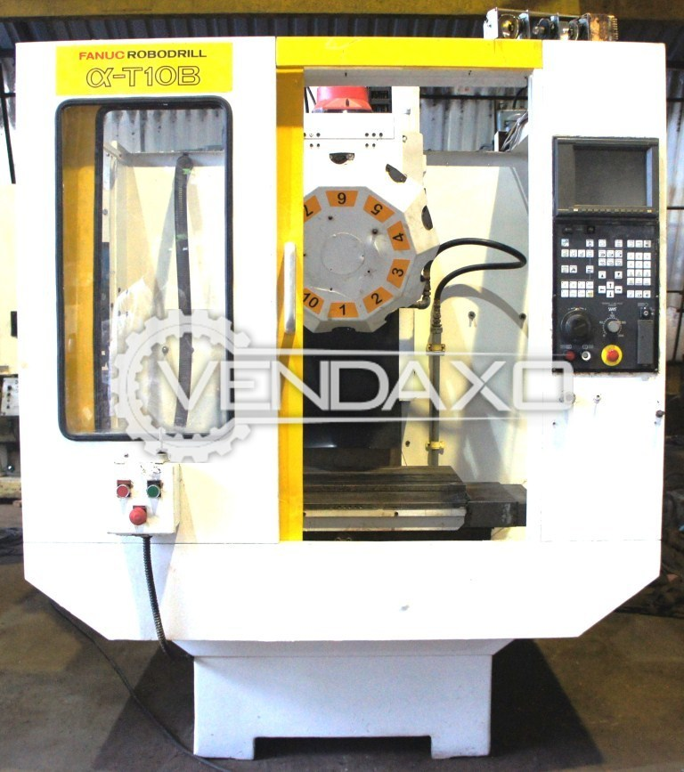 Fanuc robodrill   t10b cnc vertical machining center