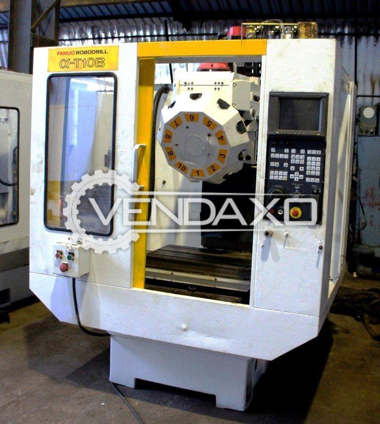 Fanuc robodrill   t10b cnc vertical machining center 2