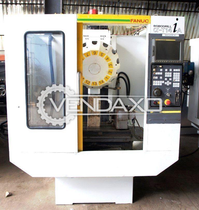 Fanuc robodrill   t14ia cnc vertical machining center
