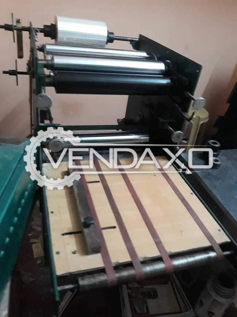 Indian Make Lamination Machine - 20 Inch