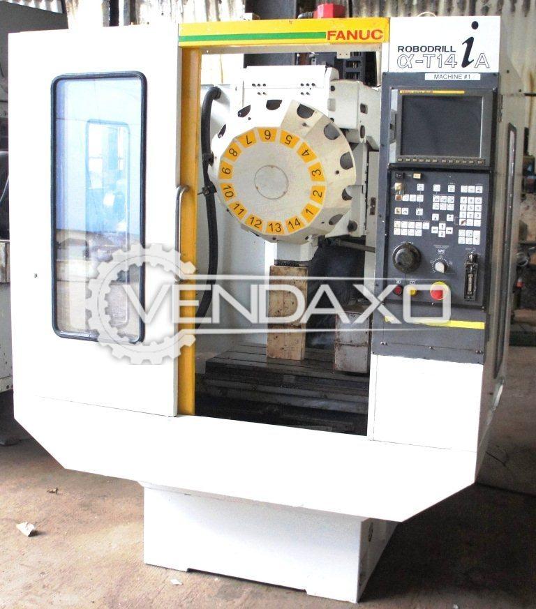 Fanuc robodrill   t14ia cnc vertical machining center 5