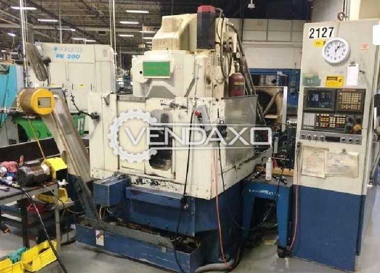 Fellows fs400 90 cnc gear shaping machine   6 axis