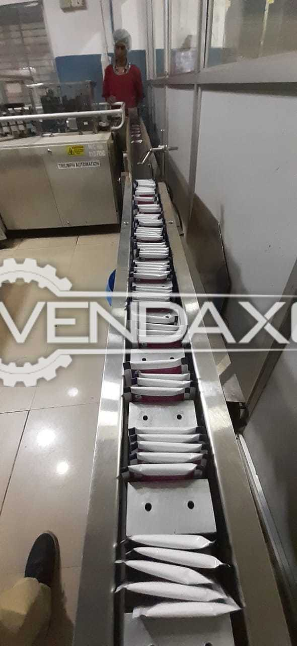 Constanta Tea Bag Packing Machine Along With Rejection Unit & Envelop Wrapping Machine