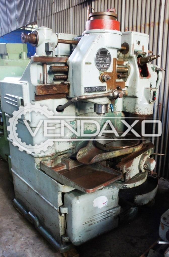 Drummond maxicut 3a gear shaper machine