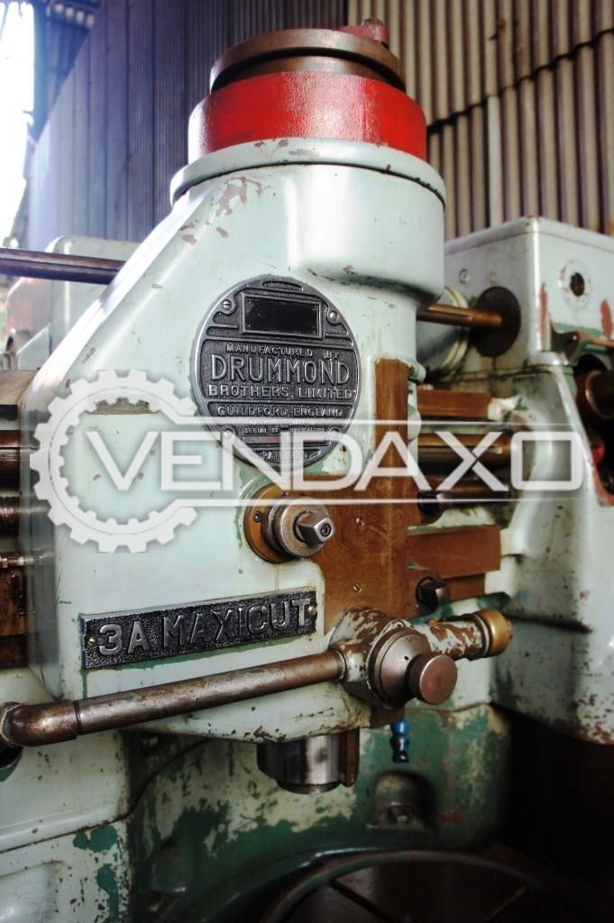 Drummond maxicut 3a gear shaper machine 2