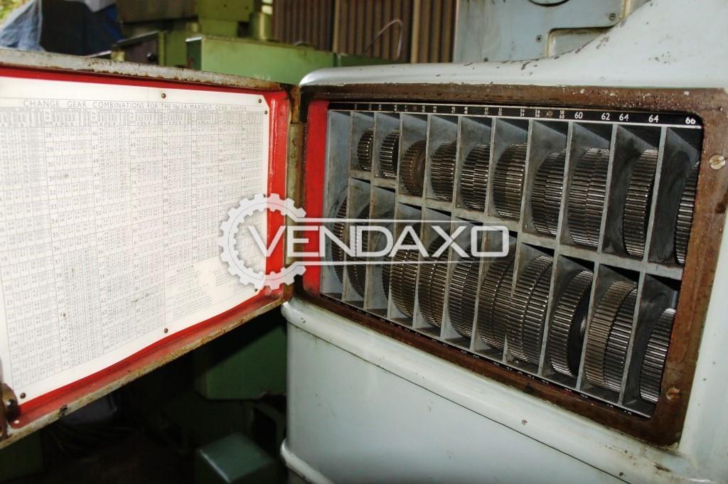 Drummond maxicut 3a gear shaper machine 3