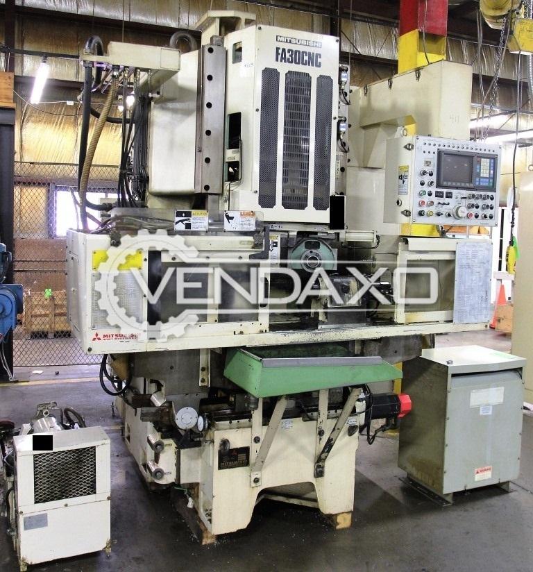 Mitsubishi fa 30 cnc gear shaving machine   4 axis 2