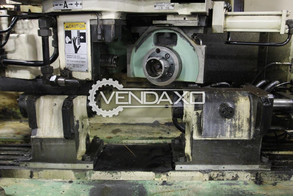 Mitsubishi fa 30 cnc gear shaving machine   4 axis 3