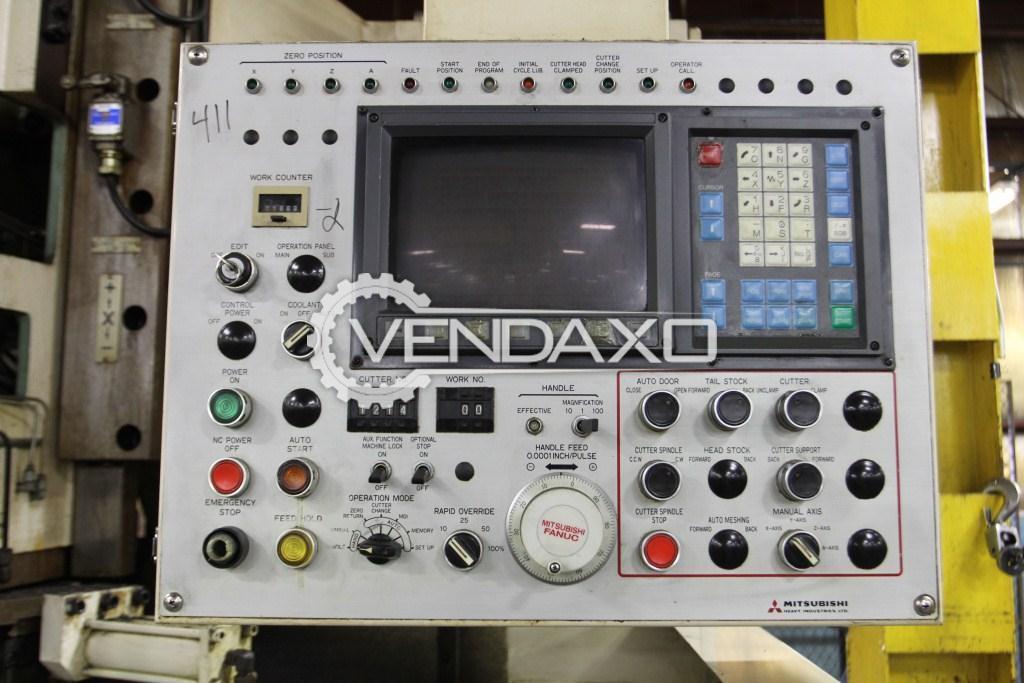 Mitsubishi fa 30 cnc gear shaving machine   4 axis 4