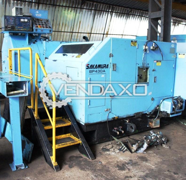 Sakamura BP-430A Bolt Former Machine - 4 Die