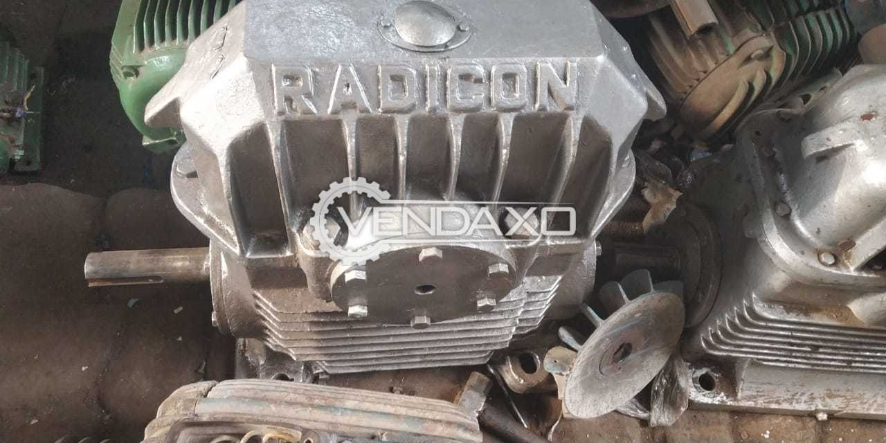 Available For Sale Refurbished Radicon Make Induction Motor - 10 Nos