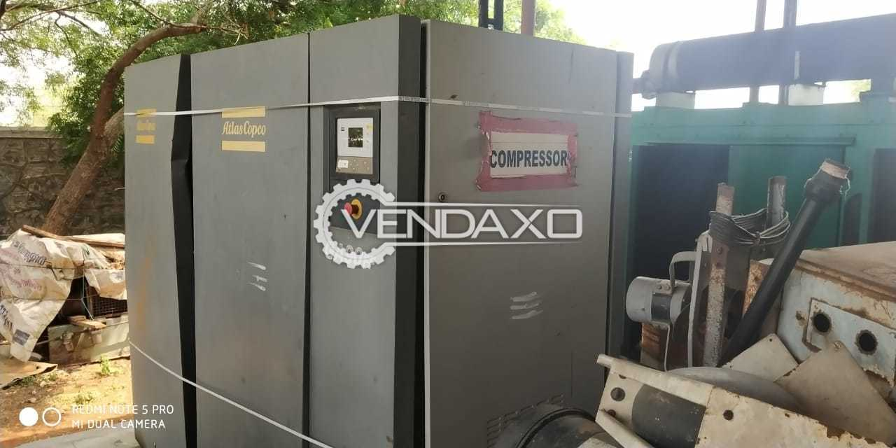 Atlas Copco GA90 A FF Air Compressor - 90 kW, 2010 Model