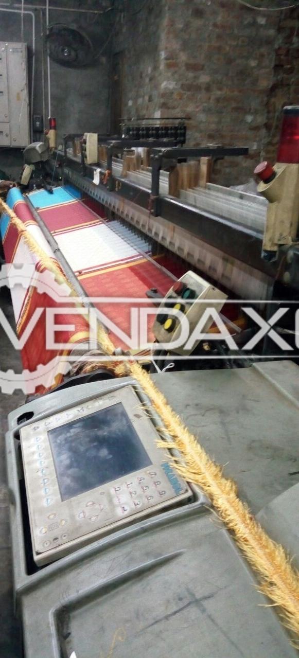 Picanol gamma 4 r rapier machine   340 cm 3