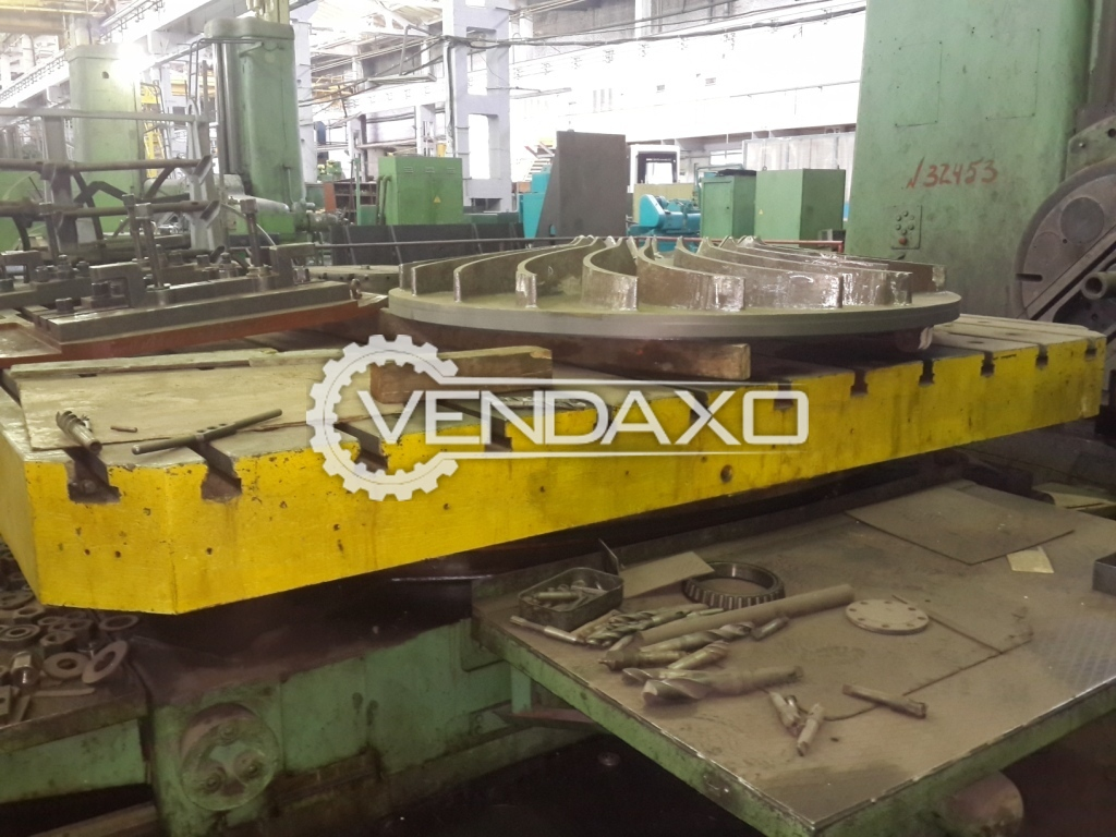 Rotary Table 3600 MM x 3600 MM