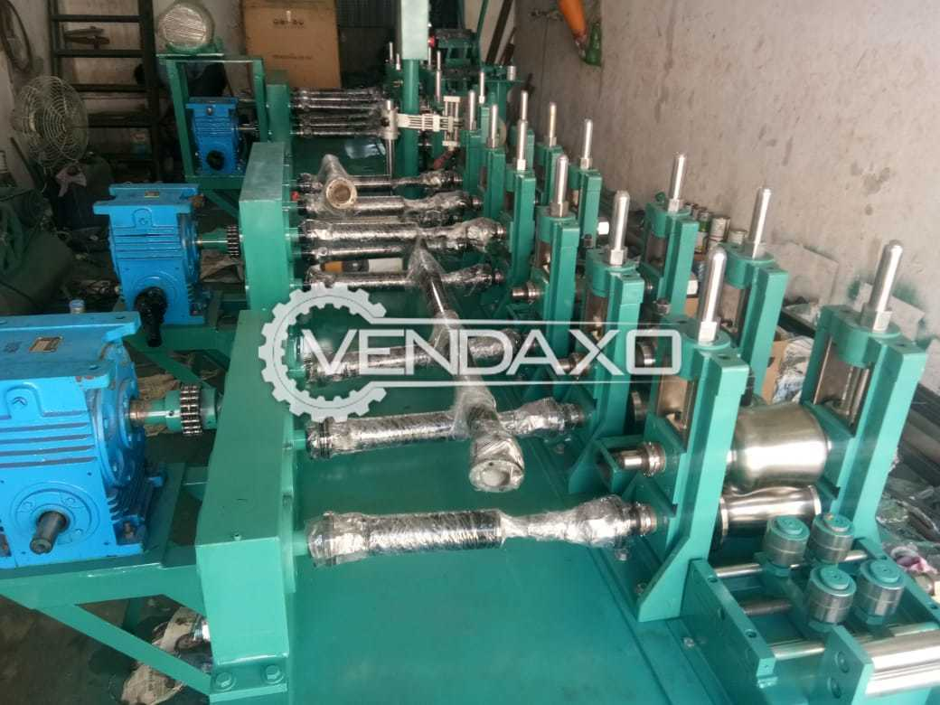 Available For Sale SS Submersible Pipe Making Machine