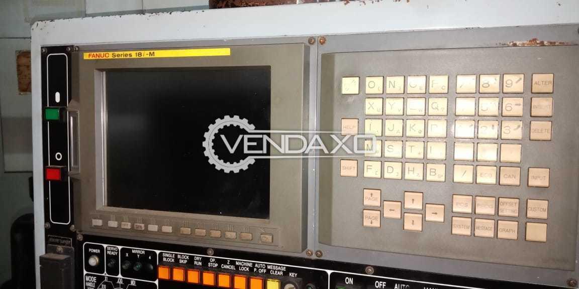 Used Kasuga NC-55G CNC Machining Center - Table Size - 800 x 400 mm
