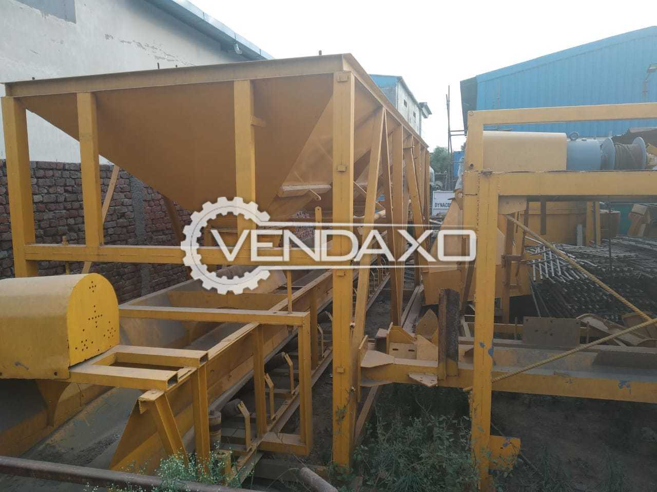 Available For Sale Akona Make Semi Auto Batching Plant - 2010 Model