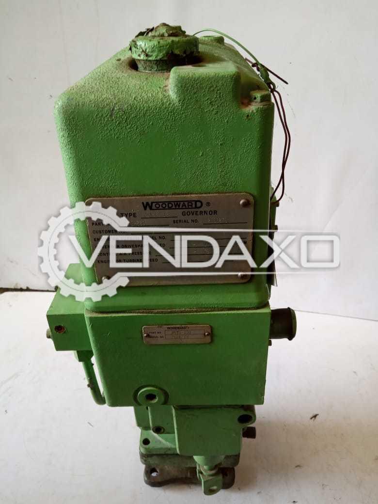Woodward Governor PGA EG 12 - 8576-330 Actuator Machine - 2010 Model