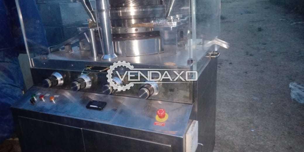Karnavati Make D Tooling Pharma Tablet Machine - 27 Station