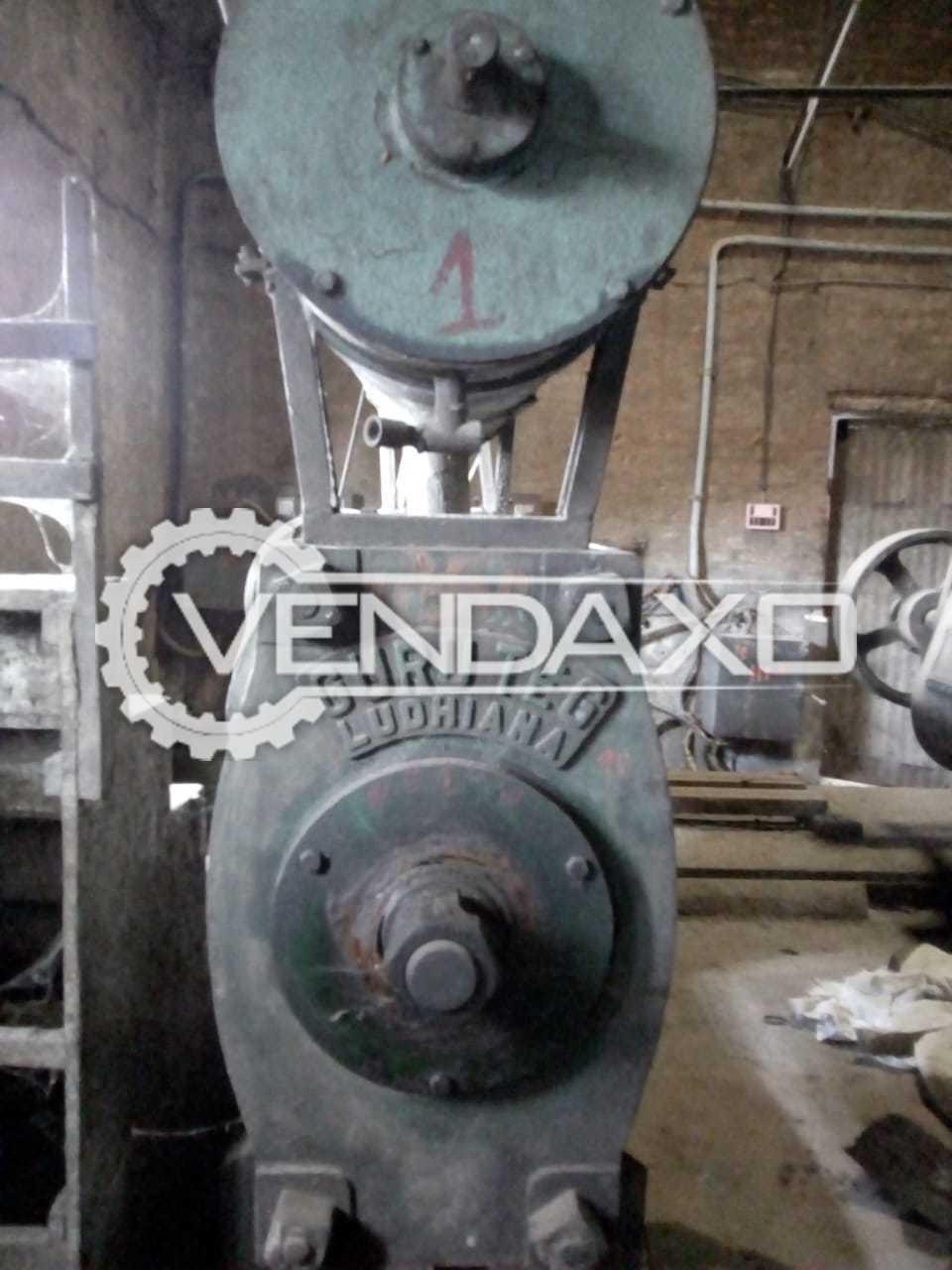 2 Set OF Guru Teg Deluxe Oil Expeller Machine - Size - 8 x 44 Inch