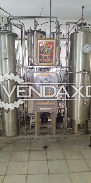 Available For Sale Labell, RO Plant, Glycol Tank, Generator, Cooling Tower, Packing Machine Complete Setup