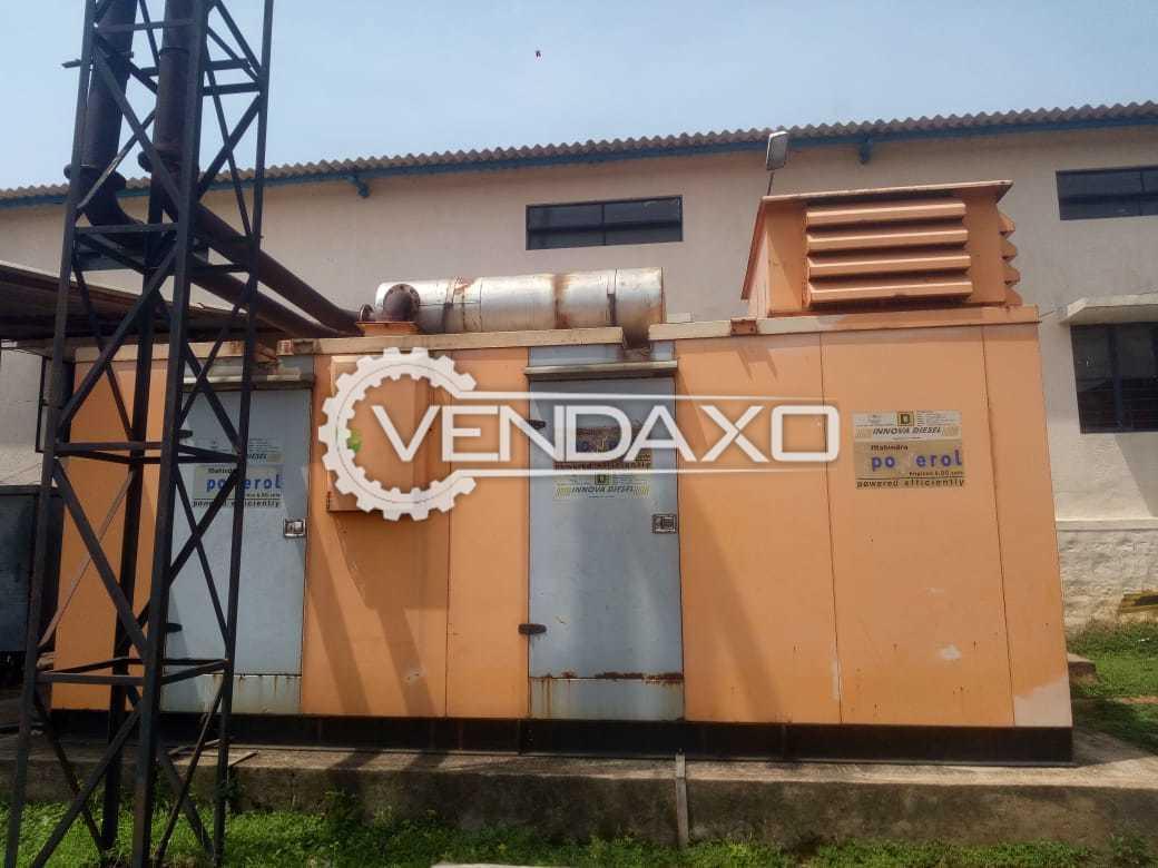 Mahindra Diesel Generator - 500 kVA, 2011 Model
