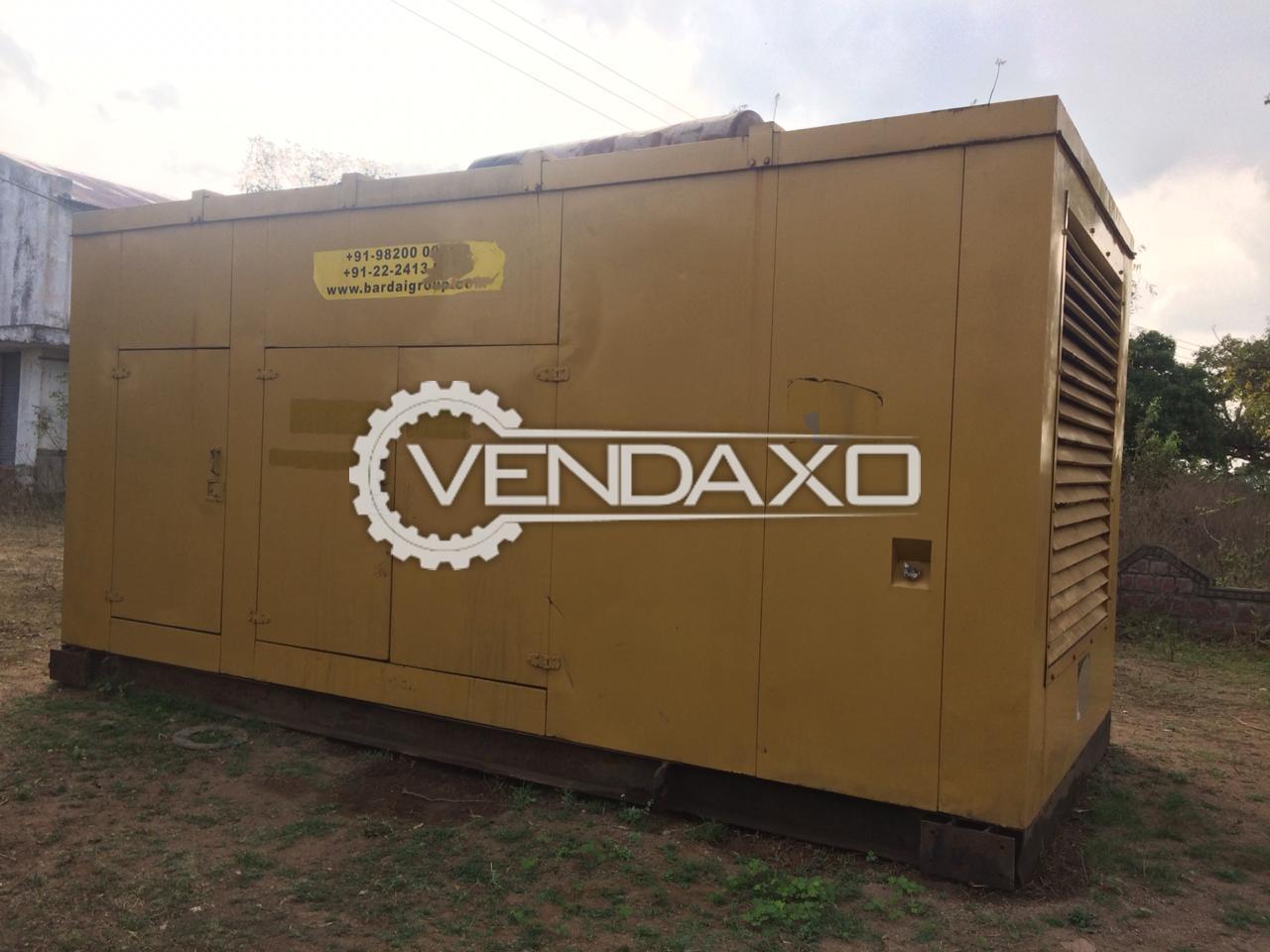 Caterpillar Diesel Generator - 725 kVA, 2007 Model