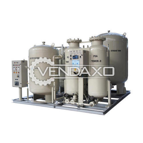 MVS Make 60 NM3 Nitrogen Gas Generator Plant - 2012 Model