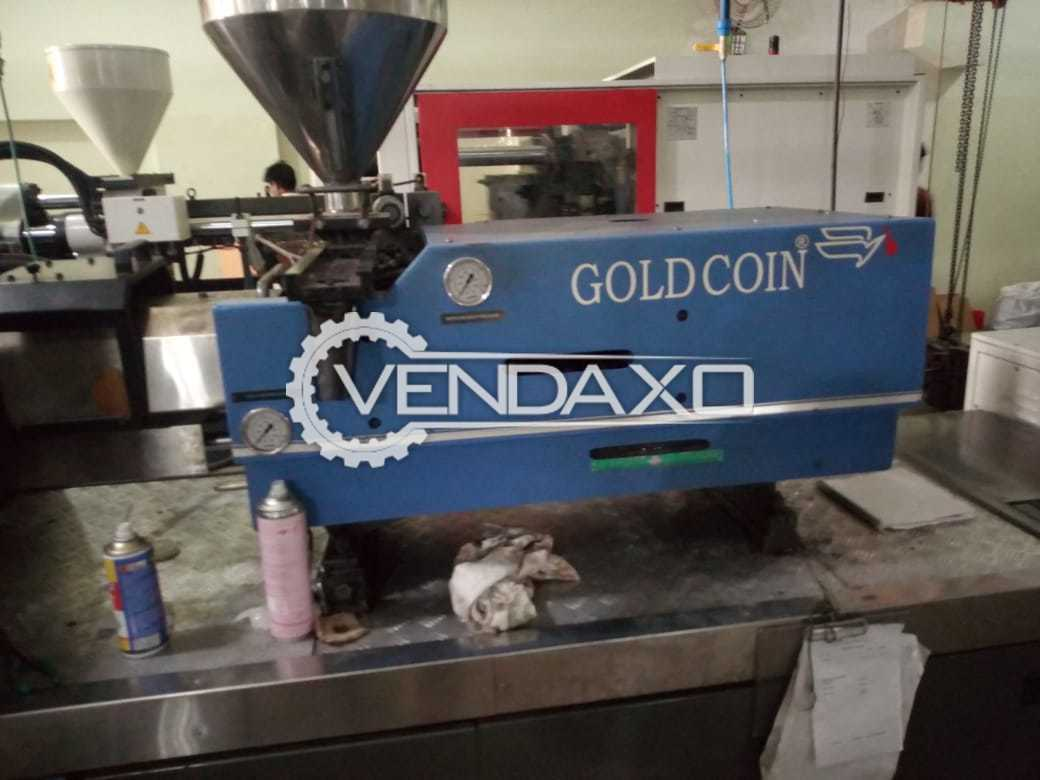 GoldCoin Injection Moulding Machine - 120 Ton