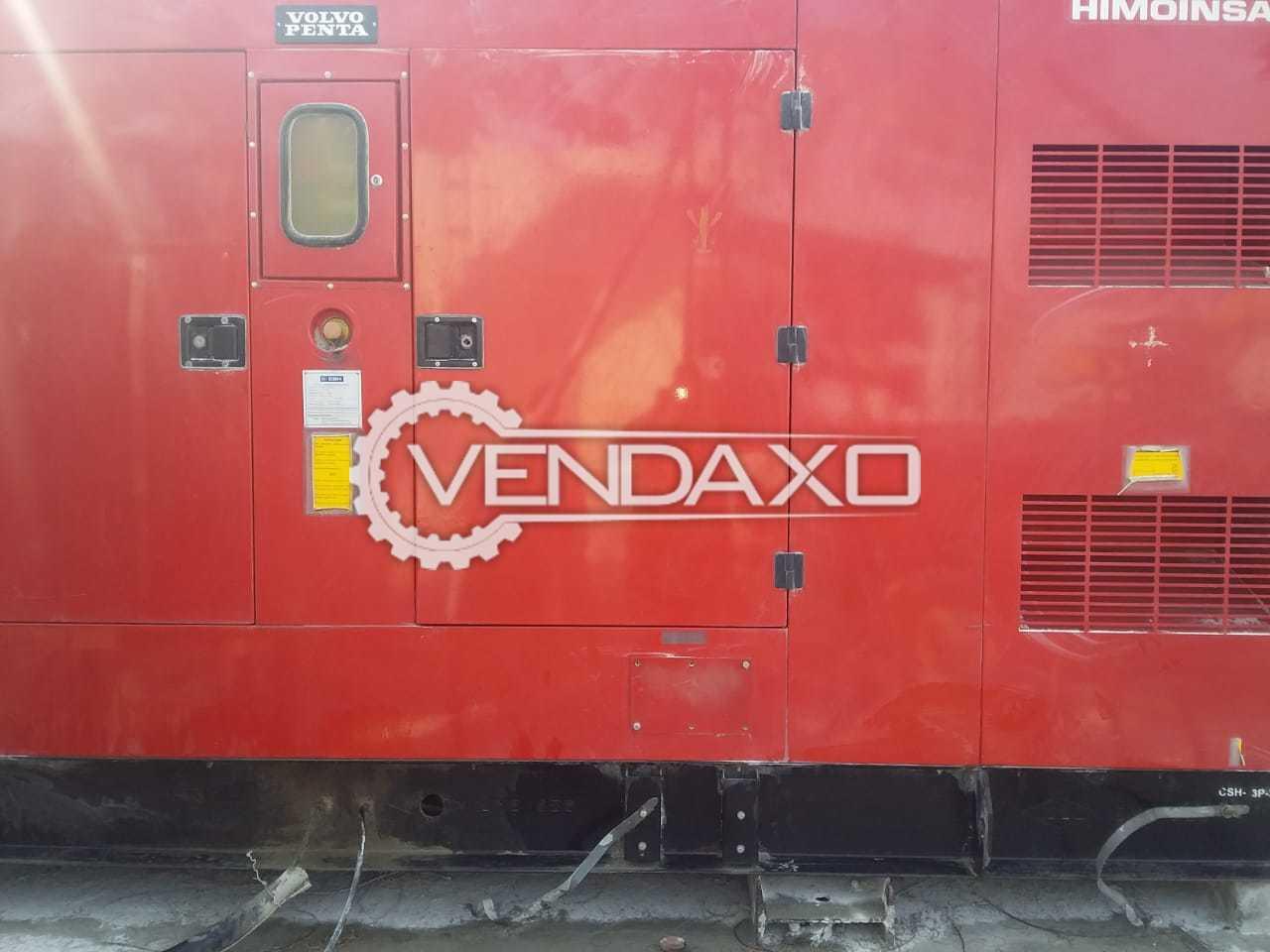 Volvo Penta Diesel Generator - 500 kVA, 2015 Model