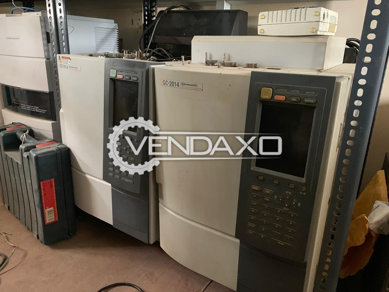 Shimadzu Make Gas Chromatography - Model GC-2014
