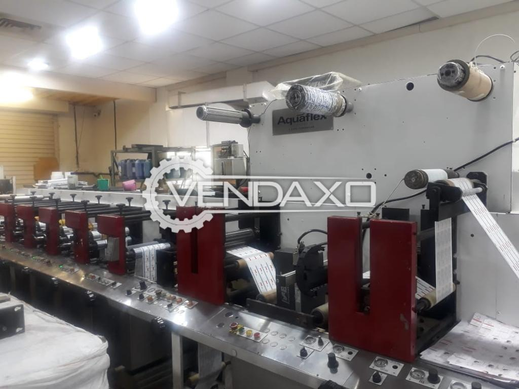 Aquaflex Flexo Printing Machine - Size - 250 mm, 1999 Model
