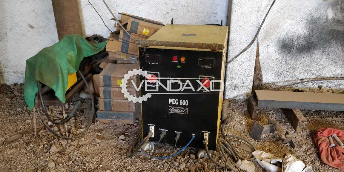 Vulcan Make MIG-600 Welding Machine - 2018 Model