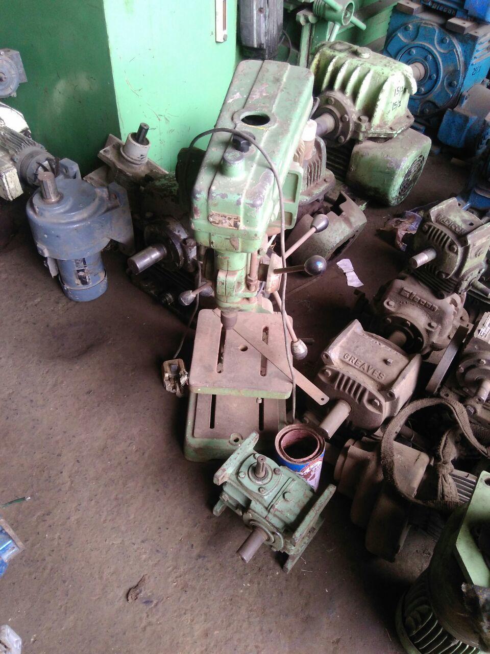 Drill machine done