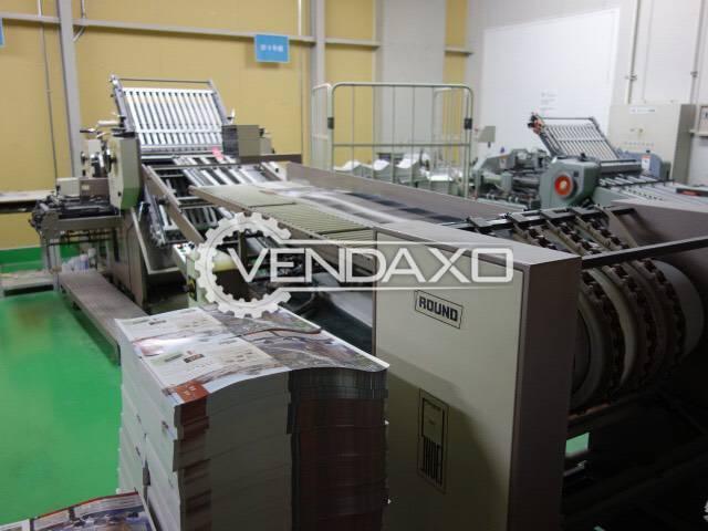 Shoei 66 Round Type Folding Machine - Size - 23 x 36 Inch