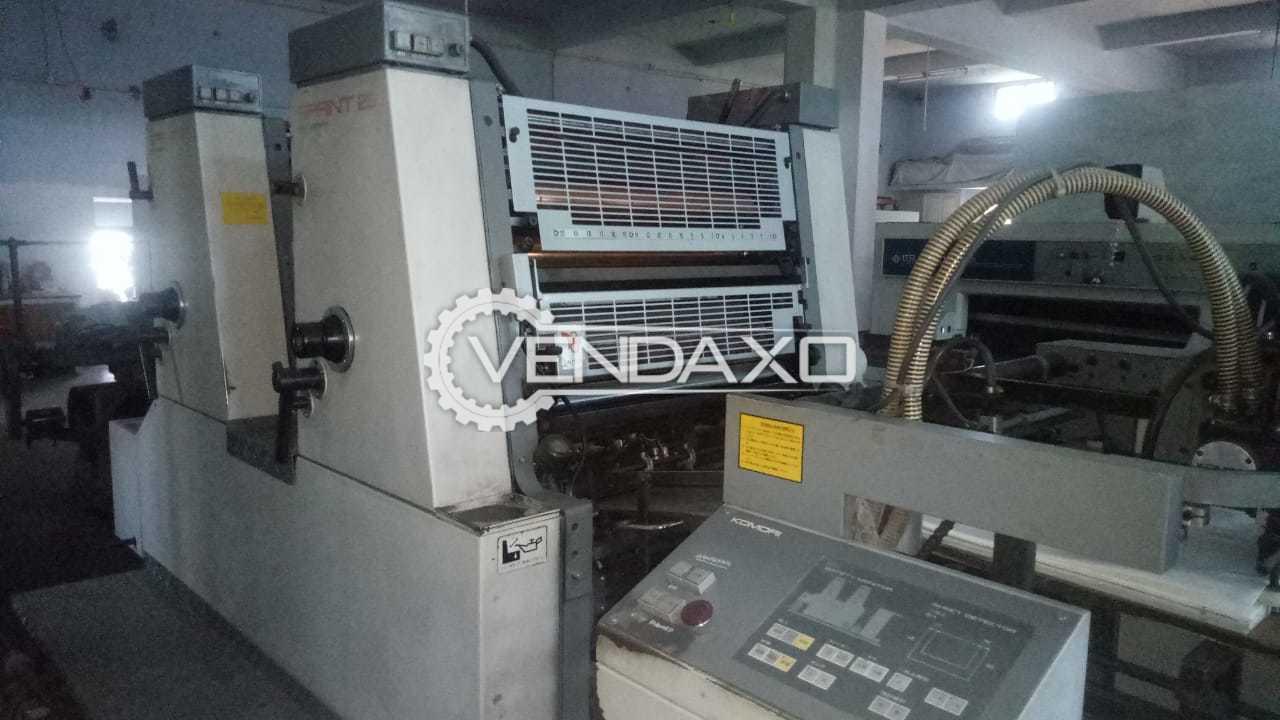 Komori Sprint 226P Offset Printing Machine - 2 Color, 1994 Model