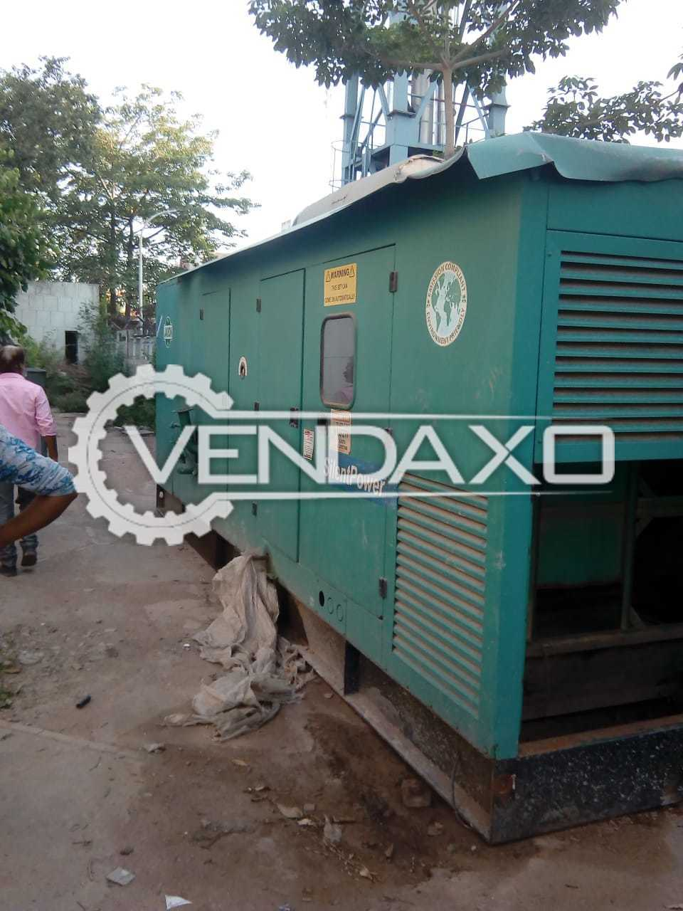 Cummins Silent Diesel Generator - 500 kVA, 2007 Model