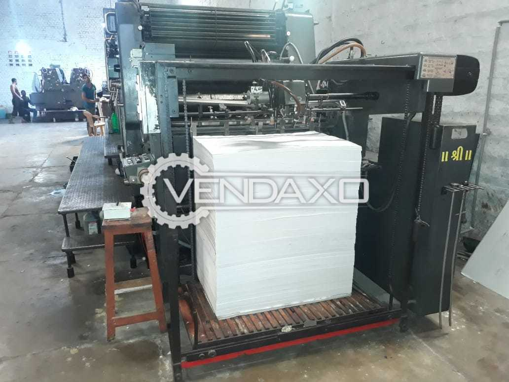 Heidelberg Offset Printing Machine - 28 X 40 Inch, 4 Color