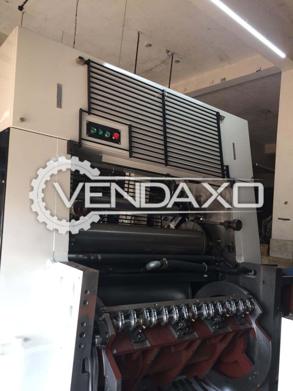 Mitsubishi 4E Offset Printing Machine - 4 Color, 1989 Model