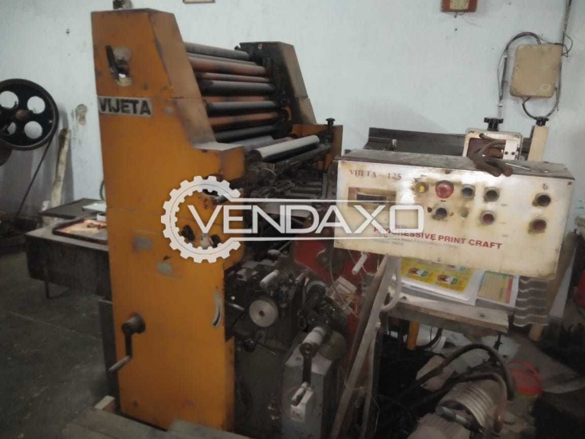 VIjeta Make Offset Printing Machine - Single Color